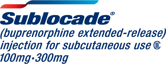 SUBLOCADE (buprenorphine extended-release) injection for subcutaneous use (CIII)